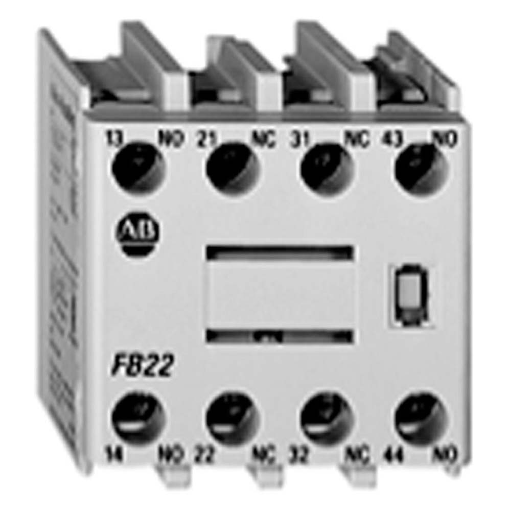 100-FA22 AB 2NO-2NC AUX CONTACT BLOCK