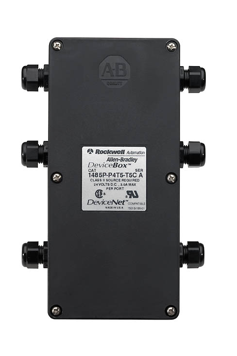 1485P-P8T5-T5 AB DEVICEBOX: 2 TRUNK 8 DROP PT TERMINAL STRIP