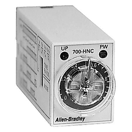 700-HNC44AA12 AB TIMING RELAY 100-120VAC .1SEC - 10MIN