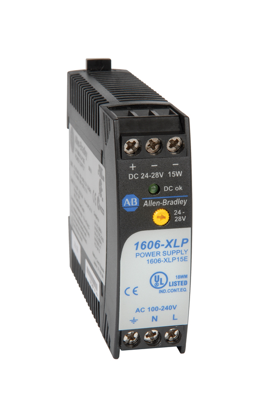 1606-XLP15A AB POWER SUPPLY 1PH 15W 100-240VAC, 85-375VDC INPUT, 5-5.5VDC OUTPUT 3A
